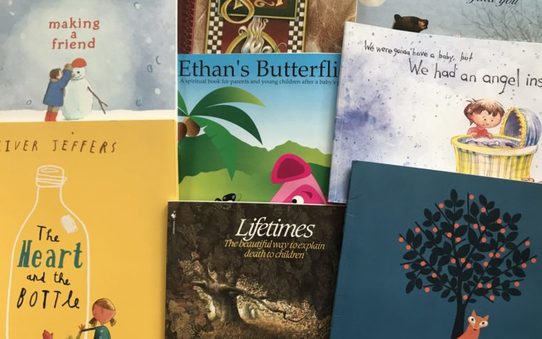 books to help children with grief & death